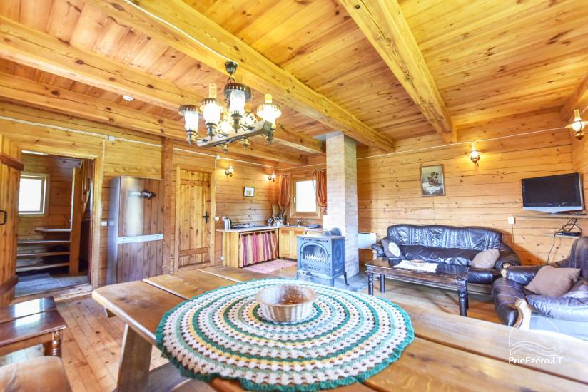 Homestead on the shore of the lake Sartai in Zarasai district Lapėnų Sodyba – holiday cottages - 27
