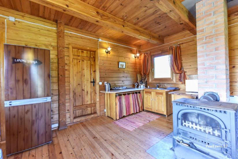 Homestead on the shore of the lake Sartai in Zarasai district Lapėnų Sodyba – holiday cottages - 28