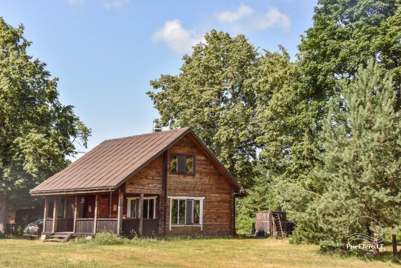 Homestead on the shore of the lake Sartai in Zarasai district Lapėnų Sodyba – holiday cottages - 34
