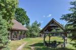 Усадьба на берегу озера Сартай в Зарасайском районе Lapėnų Sodyba - домики для отдыха