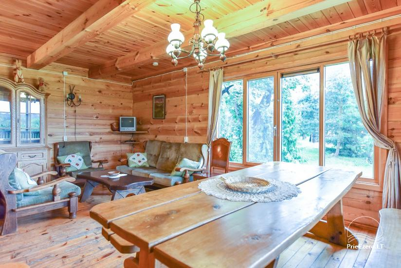 Homestead on the shore of the lake Sartai in Zarasai district Lapėnų Sodyba – holiday cottages - 37