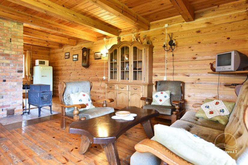 Homestead on the shore of the lake Sartai in Zarasai district Lapėnų Sodyba – holiday cottages - 39