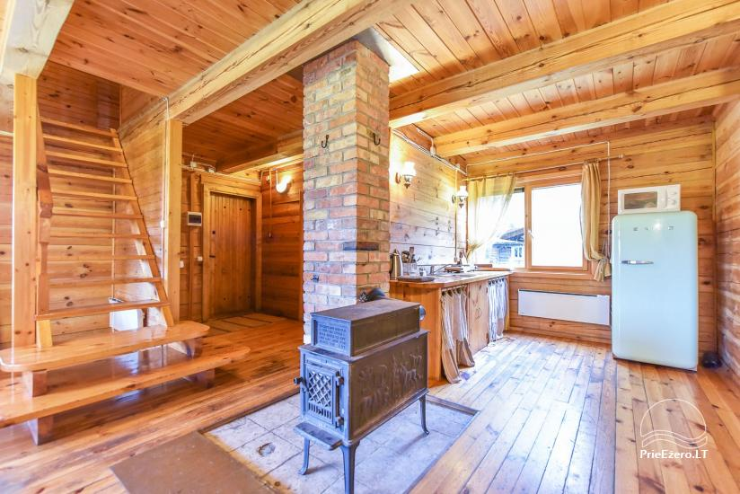 Homestead on the shore of the lake Sartai in Zarasai district Lapėnų Sodyba – holiday cottages - 41