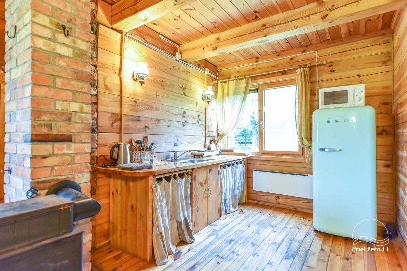 Homestead on the shore of the lake Sartai in Zarasai district Lapėnų Sodyba – holiday cottages - 42