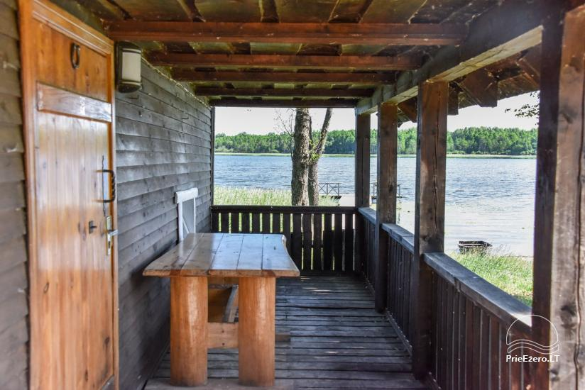 Homestead on the shore of the lake Sartai in Zarasai district Lapėnų Sodyba – holiday cottages - 53