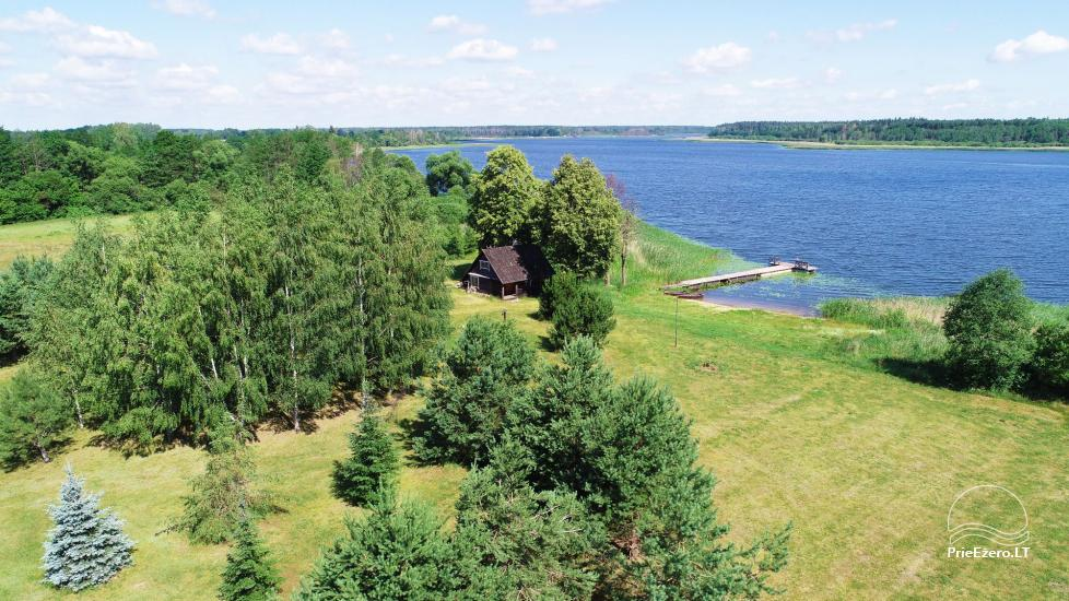 Homestead on the shore of the lake Sartai in Zarasai district Lapėnų Sodyba – holiday cottages - 51