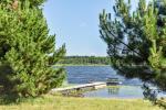Gehöft am Ufer des Sees Sartai im Bezirk Zarasai Lapėnų Sodyba - Ferienhutten - 4