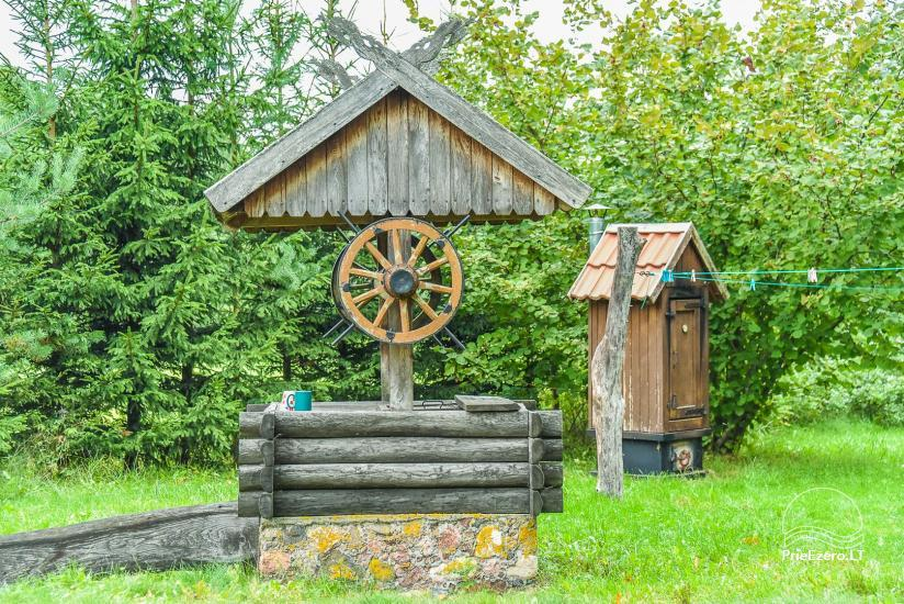 Homestead on the shore of the lake Sartai in Zarasai district Lapėnų Sodyba – holiday cottages - 17