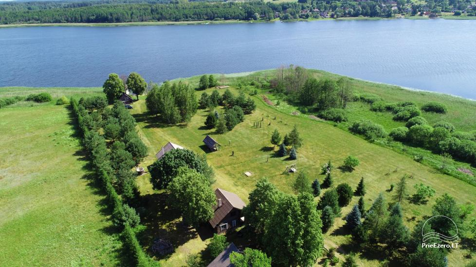 Homestead on the shore of the lake Sartai in Zarasai district Lapėnų Sodyba – holiday cottages - 5