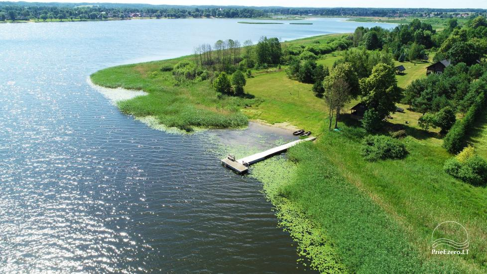 Homestead on the shore of the lake Sartai in Zarasai district Lapėnų Sodyba – holiday cottages - 9
