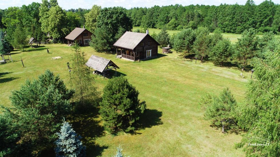 Homestead on the shore of the lake Sartai in Zarasai district Lapėnų Sodyba – holiday cottages - 12