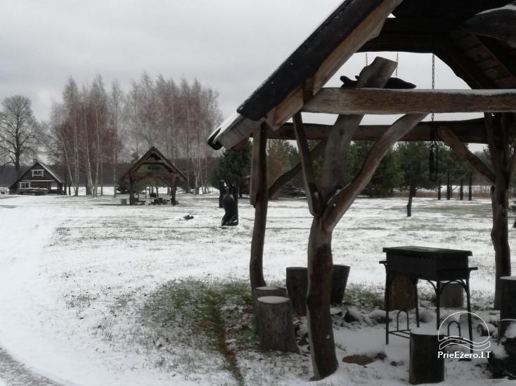 Farmstead in Zarasai region Lapėnų Sodyba - 2