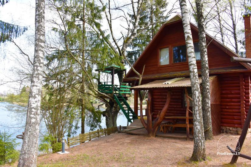 Holiday cottage on the lake shore for up to 10 persons