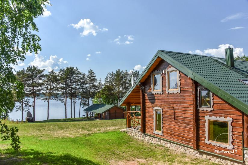 Countryside homestead on the shore of the lake Vencavas - 1