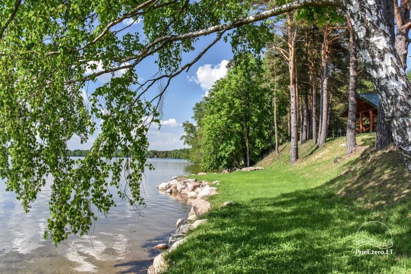 Landgut am Ufer des Sees Vencavas - 43