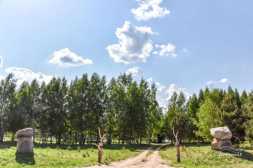 Landgut am Ufer des Sees Vencavas - 44