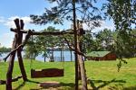 Countryside homestead on the shore of the lake Vencavas - 2