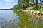 Countryside homestead on the shore of the lake Vencavas - 5