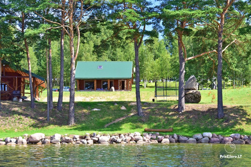 Countryside homestead on the shore of the lake Vencavas - 1