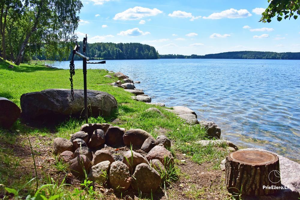 Countryside homestead on the shore of the lake Vencavas - 3