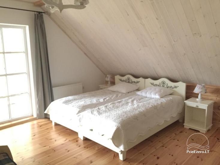 Countryside homestead near Plateliai lake in Lithuania - villa  BRONELE - 11