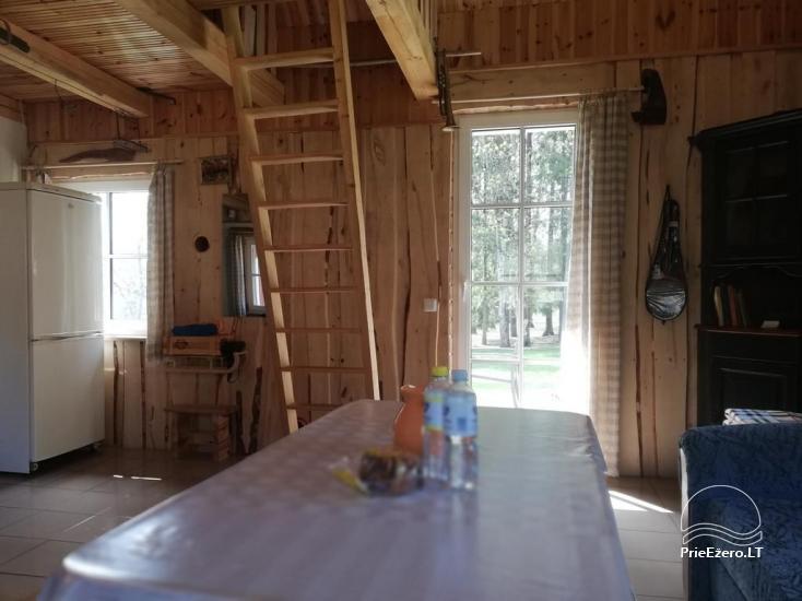 Countryside homestead near Plateliai lake in Lithuania - villa  BRONELE - 4
