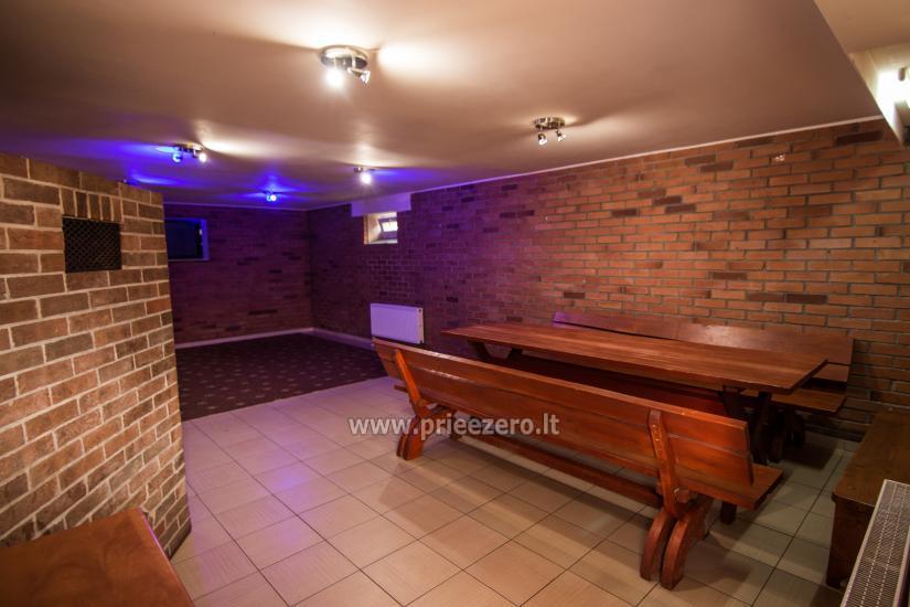 Sala bankietowa i sauna do wynajęcia. Pokoje do wynajęcia w Kłajpedzie. - 3