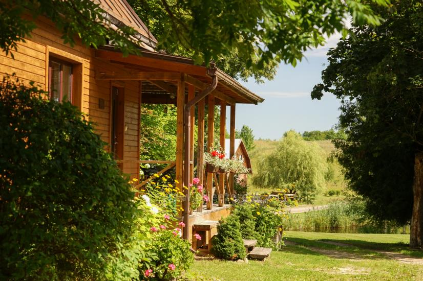 Wieś Homestead pobliżu Skaistis jeziora zaledwie 25 km od Wilna - 3