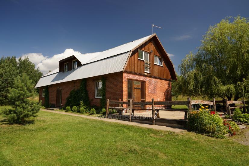 Wieś Homestead pobliżu Skaistis jeziora zaledwie 25 km od Wilna - 2