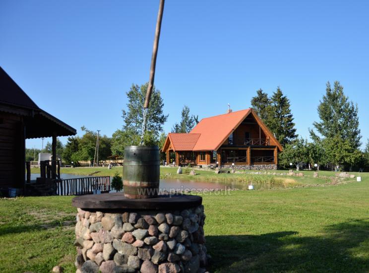 Goldener Fisch - Landgehöft mit Sauna für Feiertage und Feiern - 9