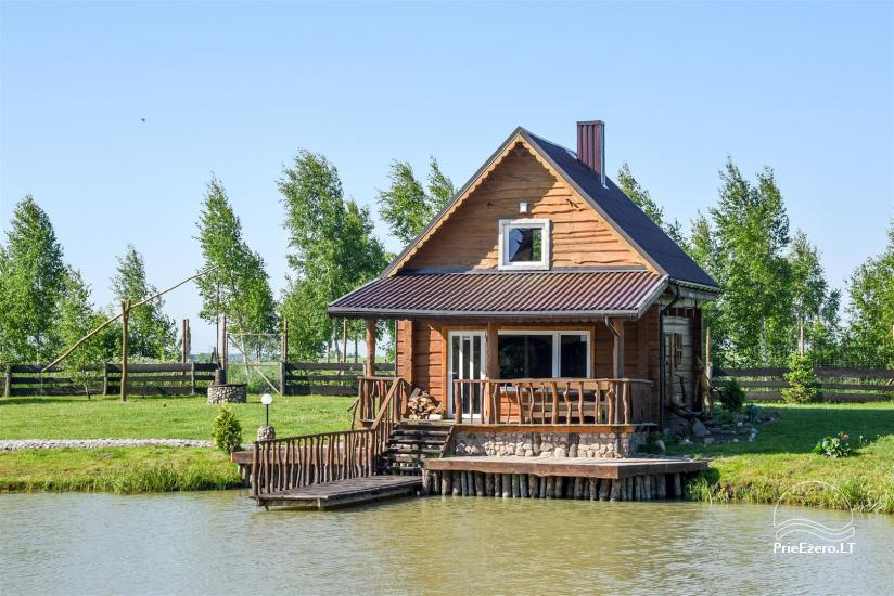 Golden fish -  countryside homestead with sauna for holidays and celebrations, canoe rental - 12
