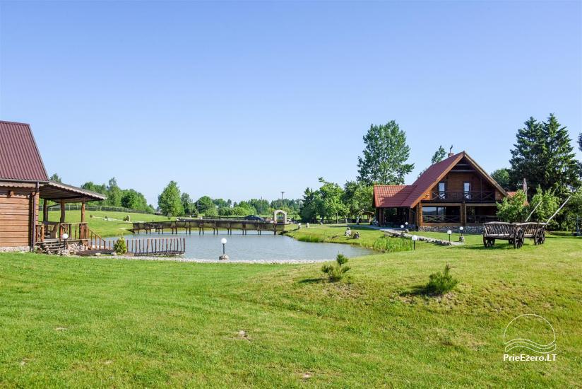 Goldener Fisch - Landgehöft mit Sauna für Feiertage und Feiern - 8
