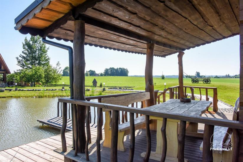 Golden fish -  countryside homestead with sauna for holidays and celebrations, canoe rental - 13