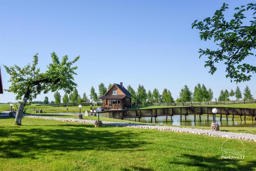 Goldener Fisch - Landgehöft mit Sauna für Feiertage und Feiern - 11