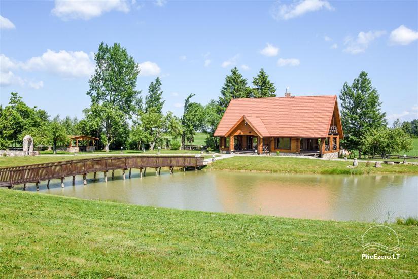 Goldener Fisch - Landgehöft mit Sauna für Feiertage und Feiern - 4