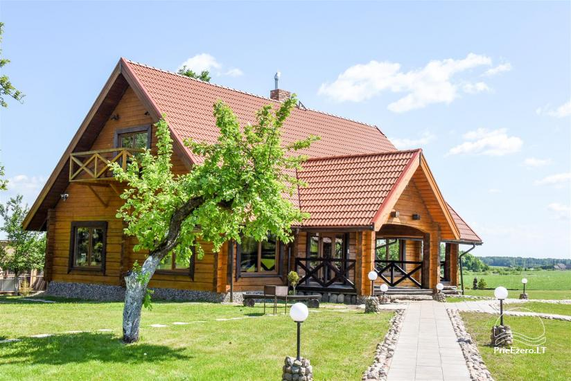 Golden fish -  countryside homestead with sauna for holidays and celebrations, canoe rental - 2