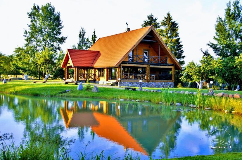 Goldener Fisch - Landgehöft mit Sauna für Feiertage und Feiern - 1