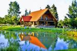 Goldener Fisch - Landgehöft mit Sauna für Feiertage und Feiern