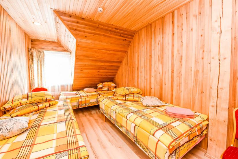 Countryside homestead with sauna Blue Wave in Lithuania - 41