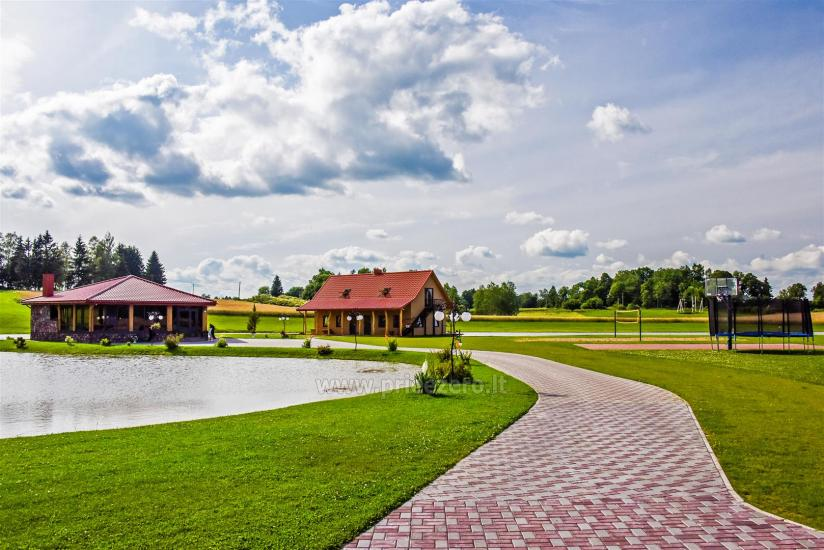 Countryside homestead with sauna Blue Wave in Lithuania - 51