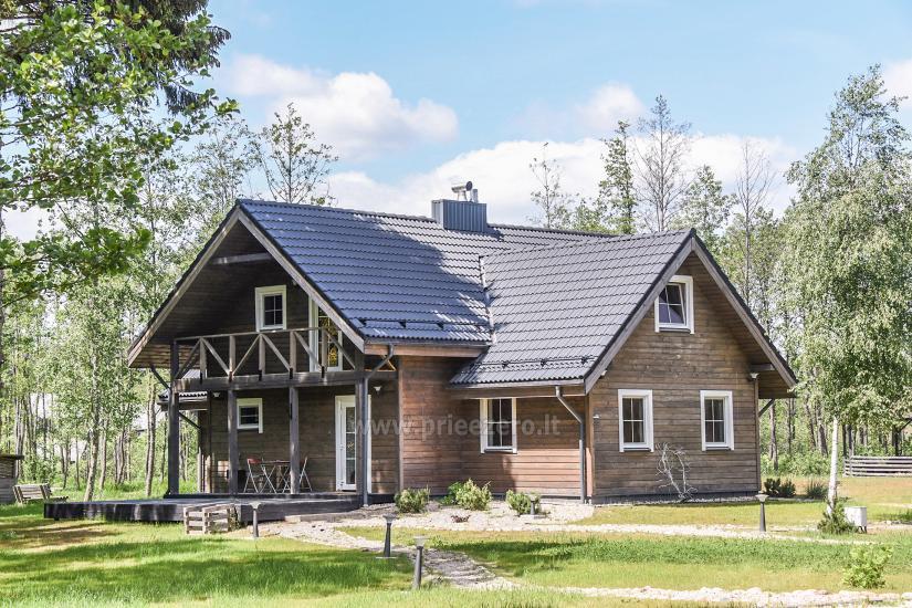 Haus für Ihren Urlaub Zverna im Bezirk Moletai - 4