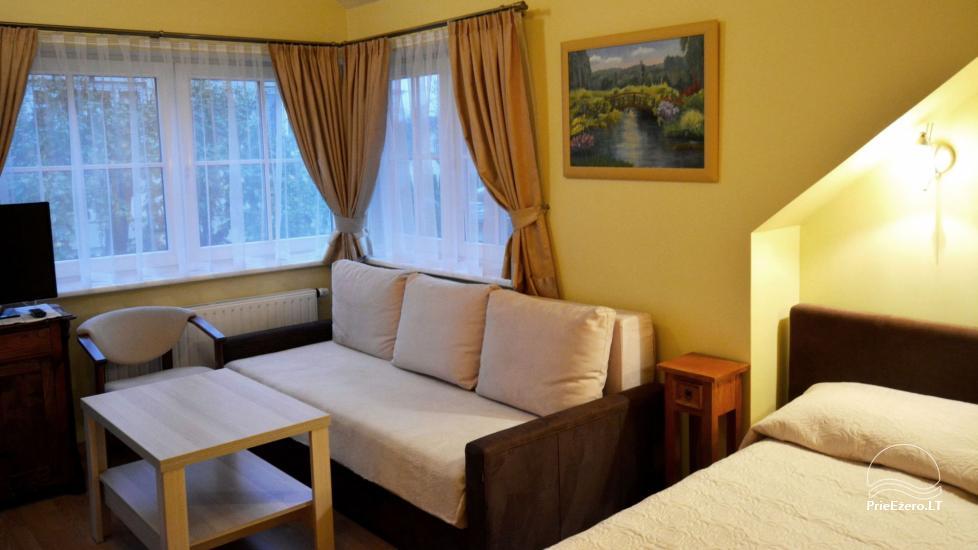 Vila Liepa - przytulne pokoje do wynajęcia w Birstonas na Litwie - 11