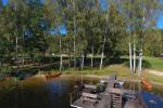Countryside homestead in Moletai region in Lithuania, near Duriai lake