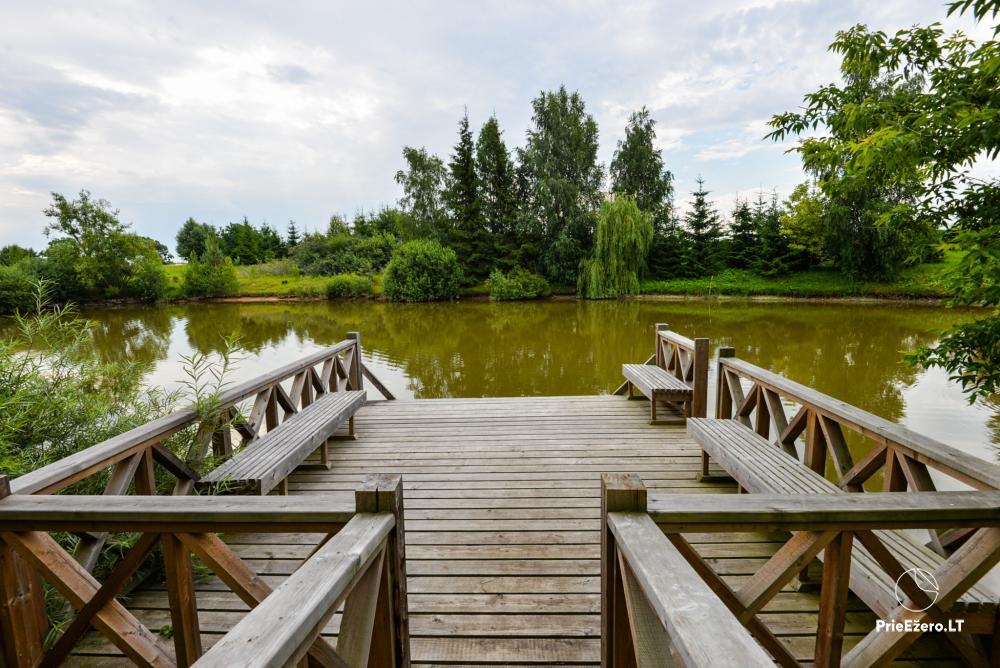 Wieś zagroda Onupis w rejonie Kowienskim - 12