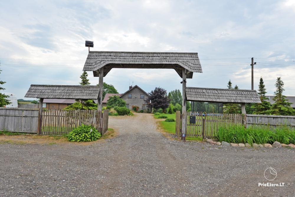 Wieś zagroda Onupis w rejonie Kowienskim - 4