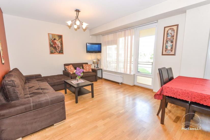 New one and two rooms apartments in the center of Druskininkai - 10