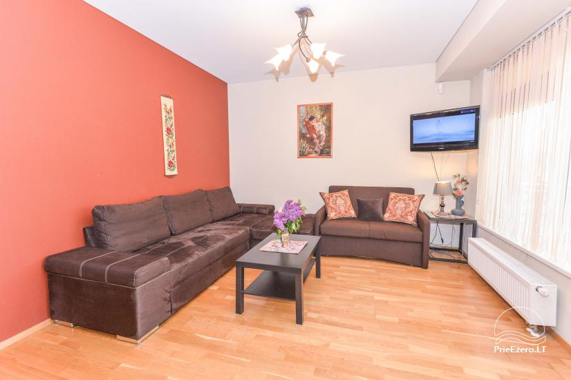 New one and two rooms apartments in the center of Druskininkai - 11