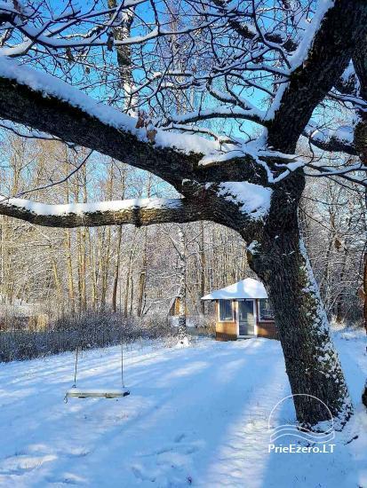 Kleines Haus und Campingplatz zu mieten in Utena Bezirk - 6