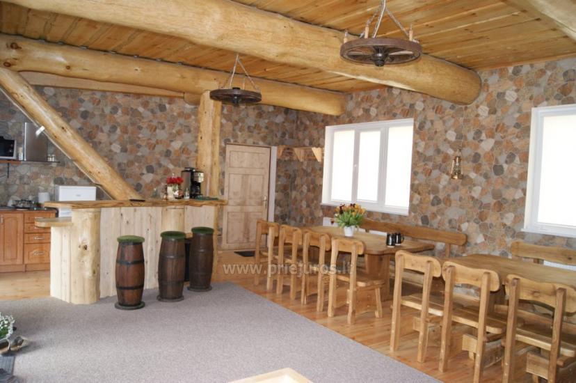 Дом с сауной, банкетным залом недалеко от моря и озера - 6