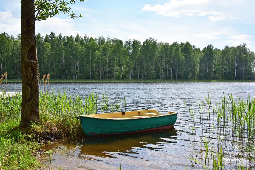Landgehöft am Ufer des Sees Villa Jurate - 2